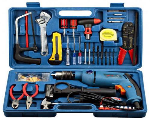 tool box set 121 pcs mechanic hand tools with drill machine price bangladesh bdstall. Black Bedroom Furniture Sets. Home Design Ideas