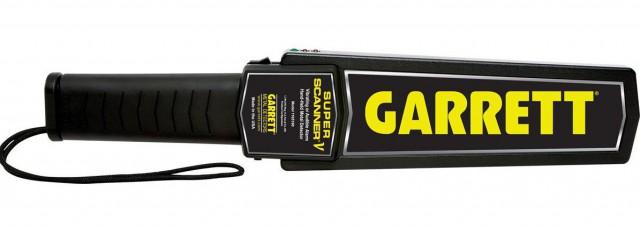 Garrett Super Scanner 1165180 Hand Held Metal Detector Pro