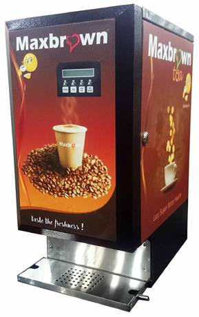 Maxbrown Coffee And Tea Vending Machine Auto Coffee Maker