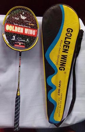 Badminton Racket Golden Wing 907 Good Quality Price