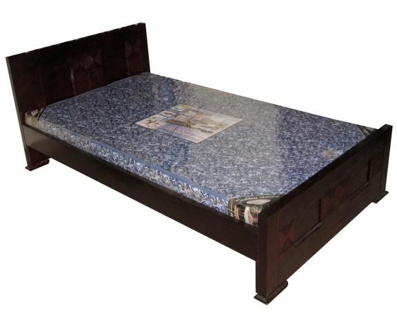 Tristar Single Bed 4 X 7 Feet Furniture Mdf Gorgony Wood Price Bangladesh Bdstall