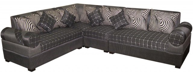 Corner Sofa Set Ash Color Five Seater Solid Wood Furniture Price