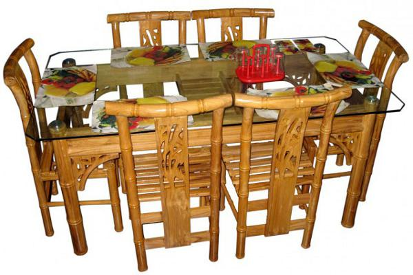 glass dining table price in bd images