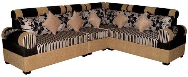 Modern L Shaped Sofa Set Furniture Best Quality Fabric Foam Price