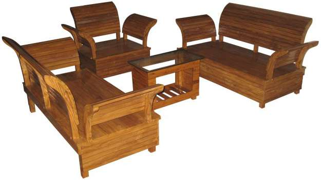 Quality Sofa Set 5 Seated Natural Polish Home Furniture Price Bangladesh Bdstall