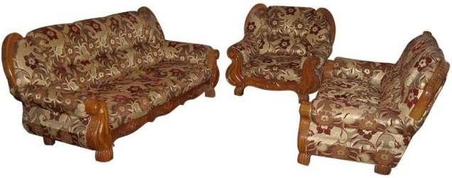 Modern Sofa Set Chittagong Tick Lacquer 6 Seater Furniture Price