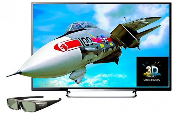 Sony Smart TV Bravia W800C 55'' Full HD 3D Android Wi-Fi