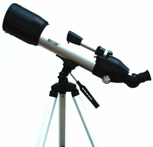 Mystery 80 500 Astronomical Telescope Double Fold Mirror