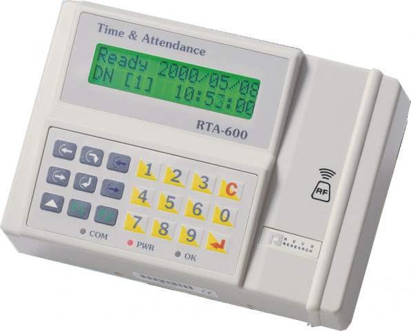Hundure RTA 600 Time Attendance and Access Control Machine