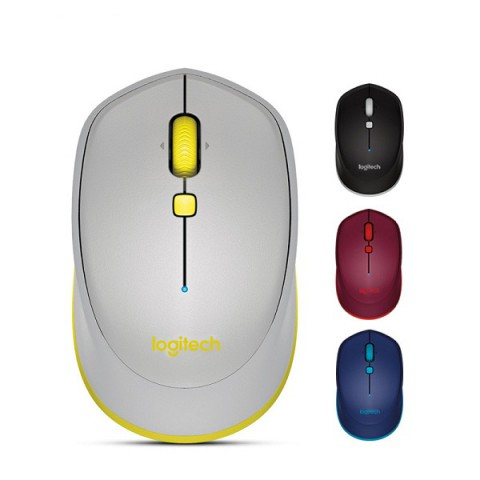 Logitech M337 Bluetooth Mouse Smooth Cursor Curved Shape