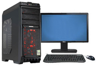 high end gaming pc intel core i7 16gb ram 2tb hdd 21 5 hd. Black Bedroom Furniture Sets. Home Design Ideas