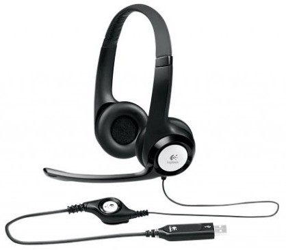 Logitech H390 Headset ClearChat Comfort Noise Cancellling