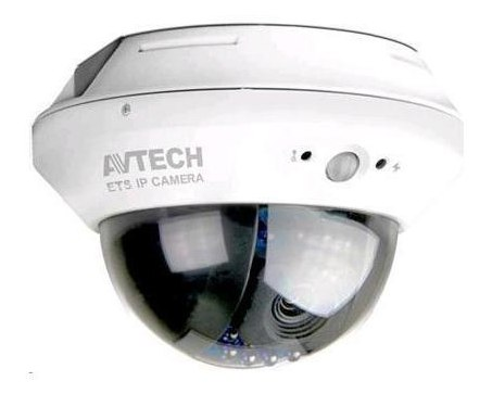 Avtech AVM2421 Indoor Dome IP CCTV Camera 2MP MicroSD