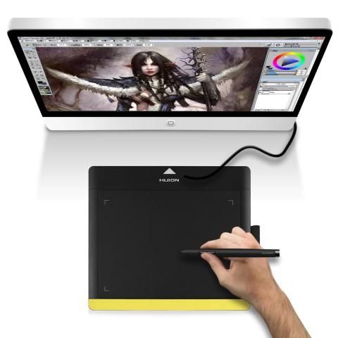 Huion 680TF Graphics Design Pad Smart Pen 8 x 6