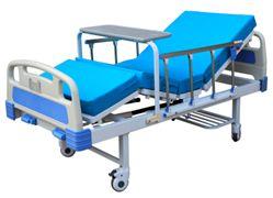 "Hospital Bed 2 Manual Crank Aluminum Alloy 5"" Castor YKB003"