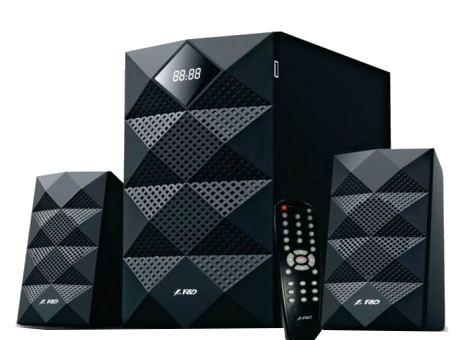 F&D A180X 42 Watt RMS LED FM Bluetooth Multimedia Speaker