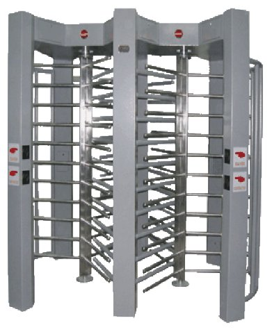 Turnstile Automatic Self-Centering Arm Preventing Gate
