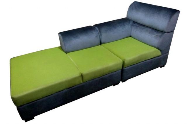 Modern Divan 4 Seater High Quality Foam Solid Wood