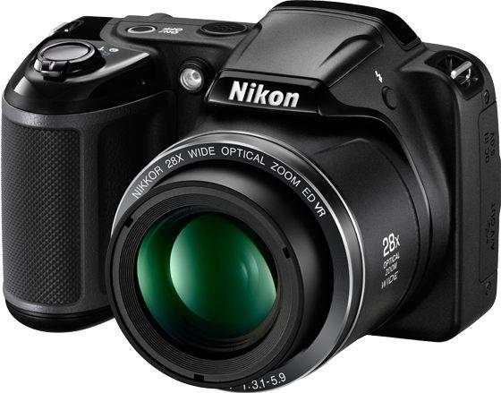 Nikon Coolpix L340 28x Super Zoom Compact Digital Camera