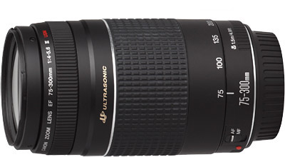 Canon EF 75-300mm f/4-5.6 III USM Digital SLR Camera Lens