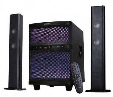 F D T 200x 2 1 Bluetooth Soundbar System Multi Color Led