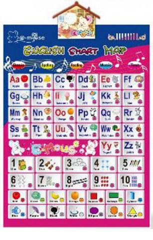 Kids Smart English Alphabet Learning Toy 5 Function Key