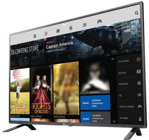 LG LF595T Full HD Smart LED Television Triple XD Wi-Fi
