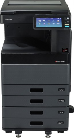 Toshiba E-Stuido 4508A 45PPM 2400dpi B&W Copier Machine