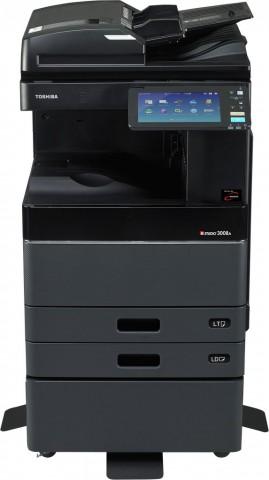 Toshiba E-Stuido 4508A 45PPM 2400dpi B&W Copier Machine