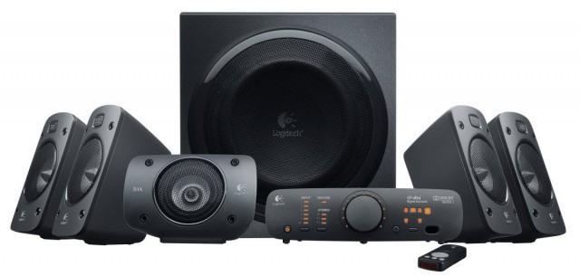 Logitech Z906 5:1 Multimedia Surround Sound Speaker System