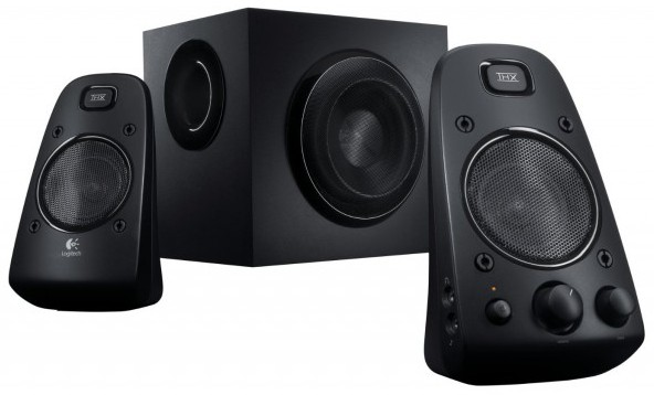 Logitech Z623 Sound Control Thx Certified 2 1 Black