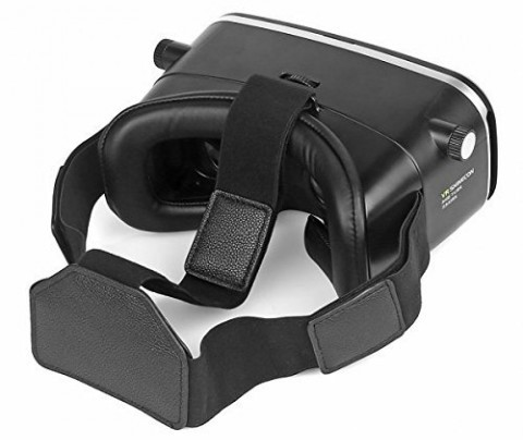 VR Shinecon 3D Glass Virtual Reality Headset Soft Leather