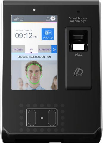 Virdi AC-7000 Face Detection and Time Attendance Device