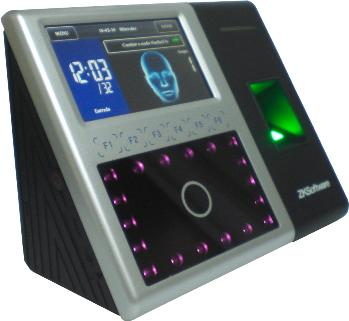 ZK F302 Face Detection and Time Attendance Access Control