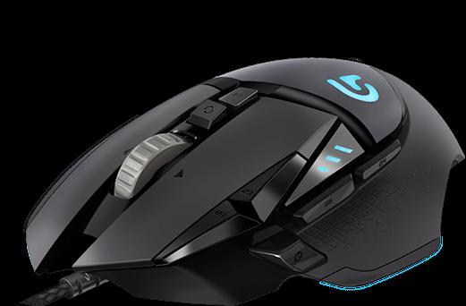 Logitech G502 Proteus Spectrum Optical Gaming Mouse