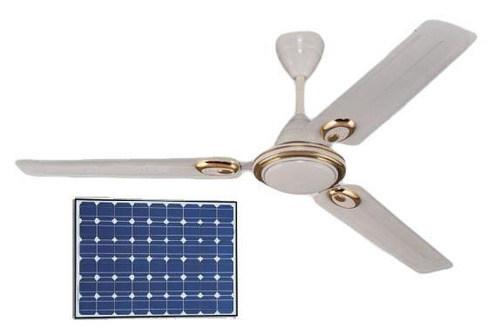 Ensysco 56 Inch Blades 5-Level Controller Solar Ceiling Fan