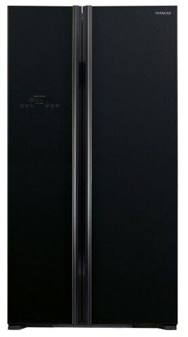 Hitachi R-S800P2M GBK 661-Liter Side By Side Refrigerator
