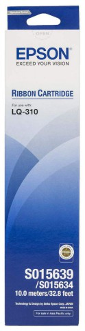 Epson LQ-310 Ribbon Cartridge Efficient Print Result