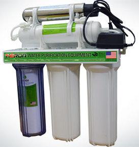 Heron G-UV-501 Five Stage 3 8 Liter UV Water Purifier System