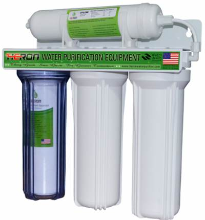 Heron G-WP-401 Four Stage Home Water Filtration System