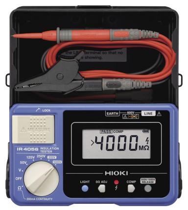 Hioki IR-4056 Digital Insulation Resistance 5-Range Tester