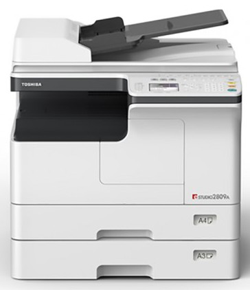 Toshiba e-Studio 2809A Black And White 28 PPM Photocopier