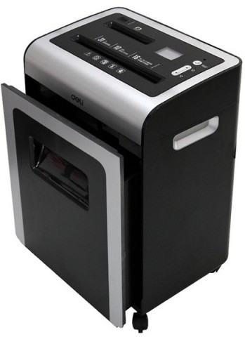 Deli 9917 Office Paper Shredder 16-Sheet Capacity Machine