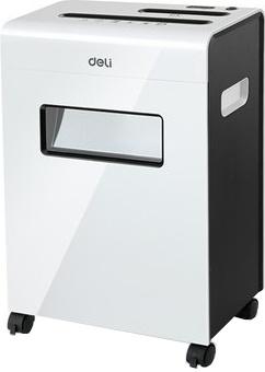 Deli 9911 Office Paper Shredder Machine 8-Sheet Capacity