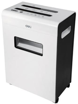 Deli 9903 Office Paper Shredder 12-Sheet Capacity