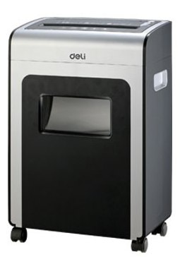 Deli 9915 Continuous 10-Min Working Office Paper Shredder
