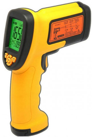 Smart Sensor Hand-Held Gun Infrared Thermometer AS882