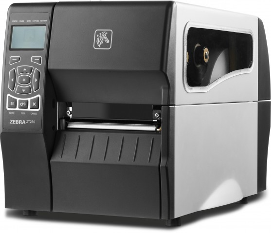 Zebra ZT230 Black And White Thermal Barcode Label Printer