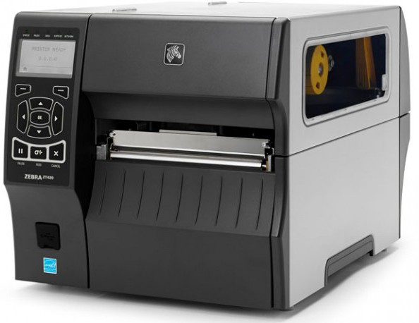Zebra ZT420 Thermal Barcode 203 dpi USB Label Printer