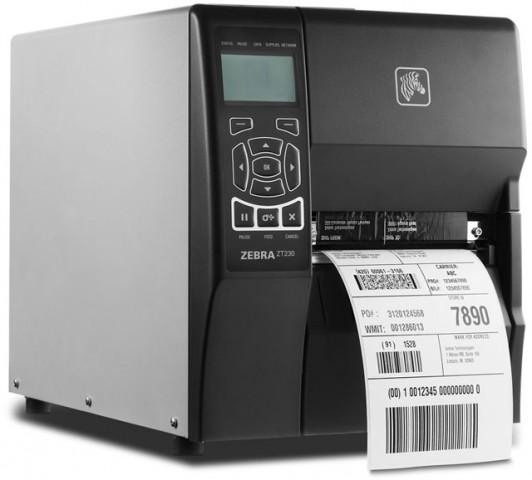 Zebra ZT230 Black And White 203DPI Barcode Label Printer